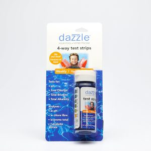4 Way Test Strips | Dazzle Water Care