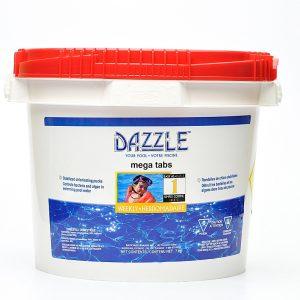 Dazzle Mega Tabs 7 kg | Dazzle Water Care