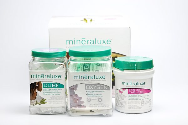 Mineraluxe System Kit with Bromine Tablets - Lasts 3 Months