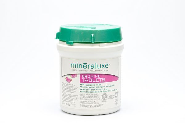 Bromine Tablets 480g | Mineraluxe
