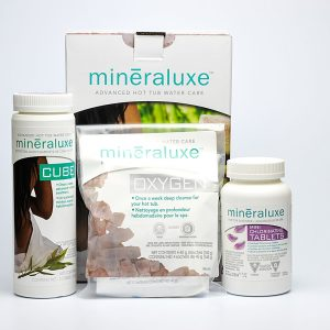Mini Chlorinating Tablets 1 Month System | Mineraluxe