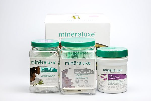 Mini Chlorinating Tablets 3 Month System | Mineraluxe