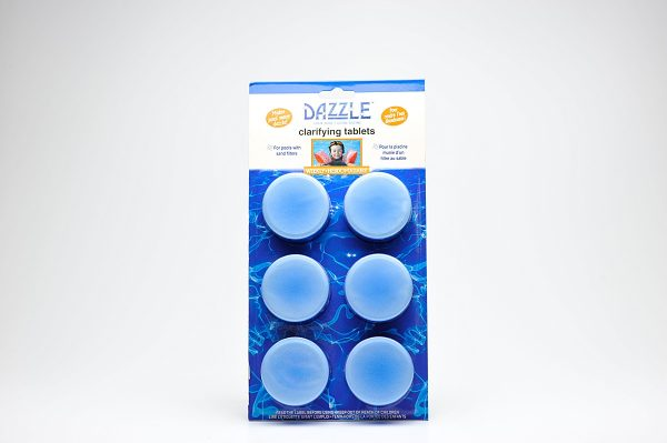 Clarifying Tabs | Dazzle Water Care