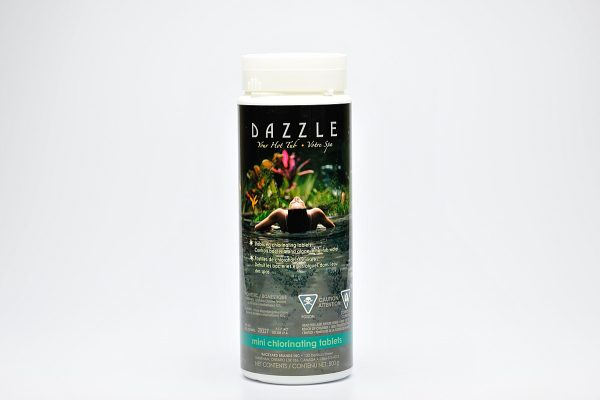 Mini Chlorinating Tablets   Dazzle Water Care