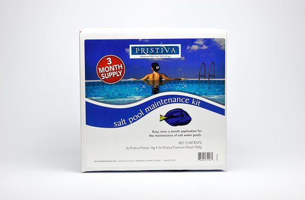 Salt Pool Maintenance Kit | Pristiva