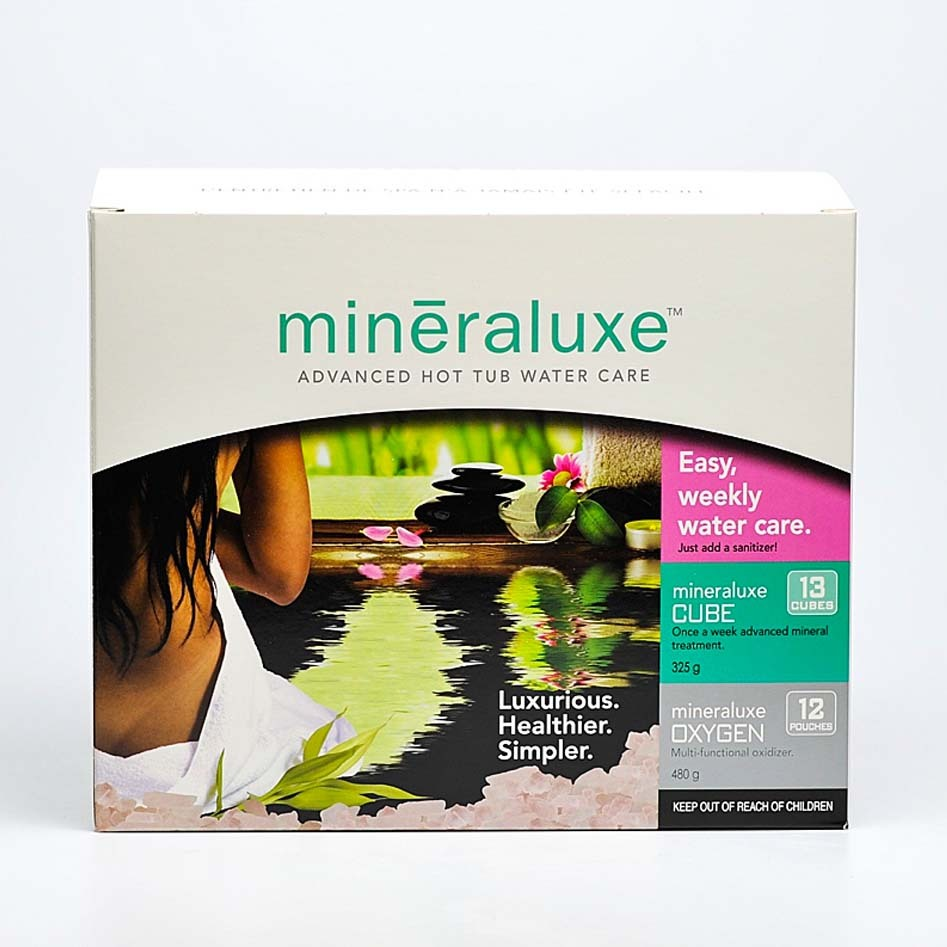 Mineraluxe Hot Tub Care