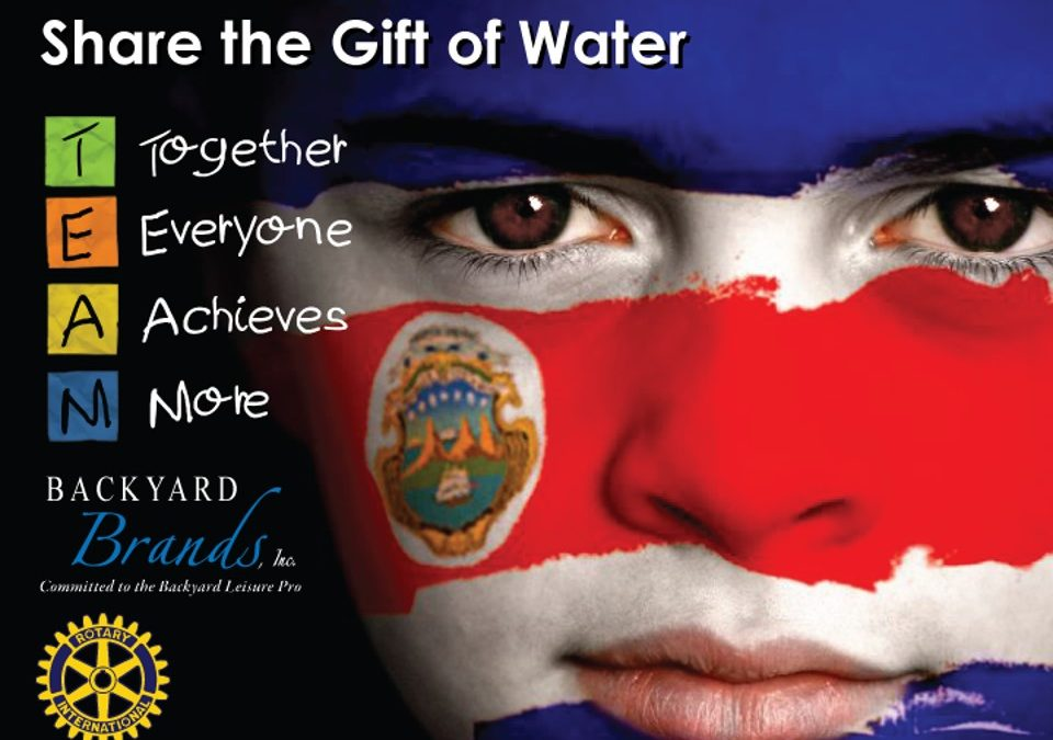 Share the Gift of Water 2020 Costa Rica