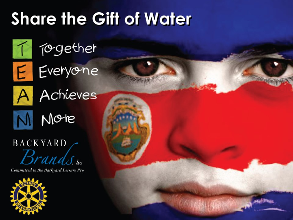 Share the Gift of Water - Costa Rica Project